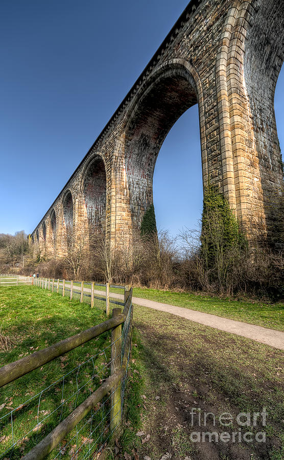 The Cefn Mawr Viaduct Photograph