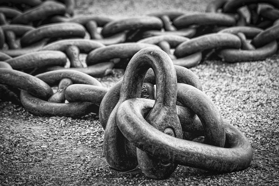 The Chain Photograph  - The Chain Fine Art Print