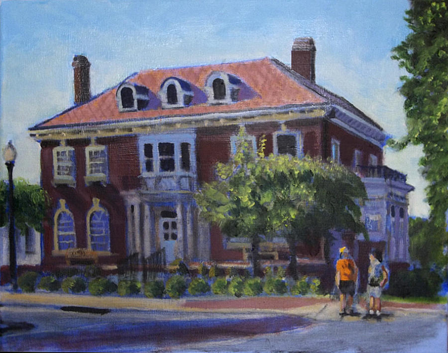 The Chancellors House Painting By David Zimmerman