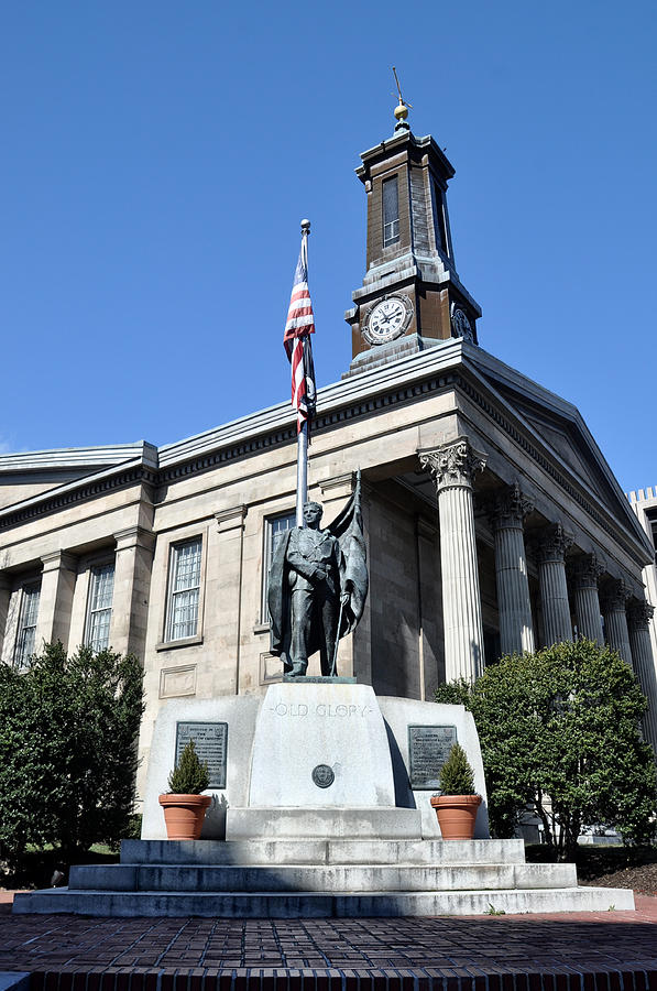 Chester Photograph - The Chester County Courthouse In West Chester Pa by Bill Cannon