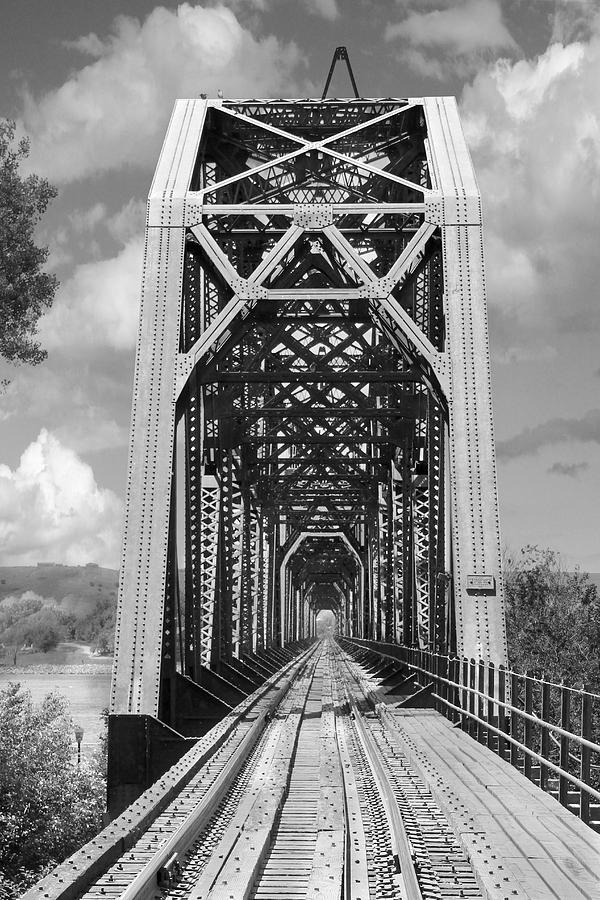 The Chicago And North Western Railroad Bridge Photograph