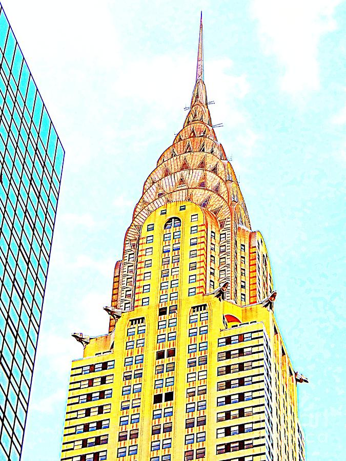 Chrysler Building Photograph - The Chrysler Building by Ed Weidman