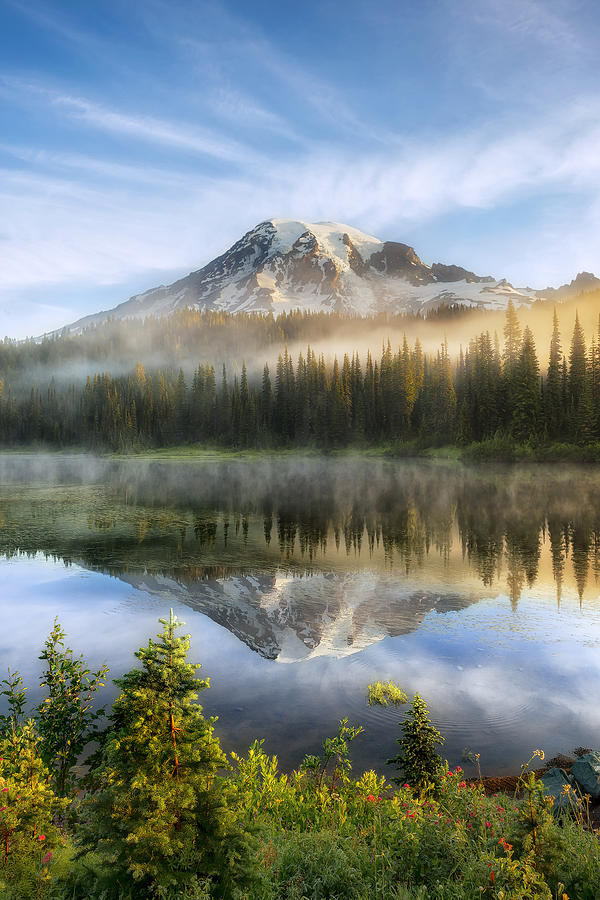 Fog Photograph - The Clearing by Ryan Manuel