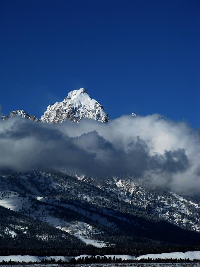 Grand Teton Photograph - The Clearing Storm by Raymond Salani III