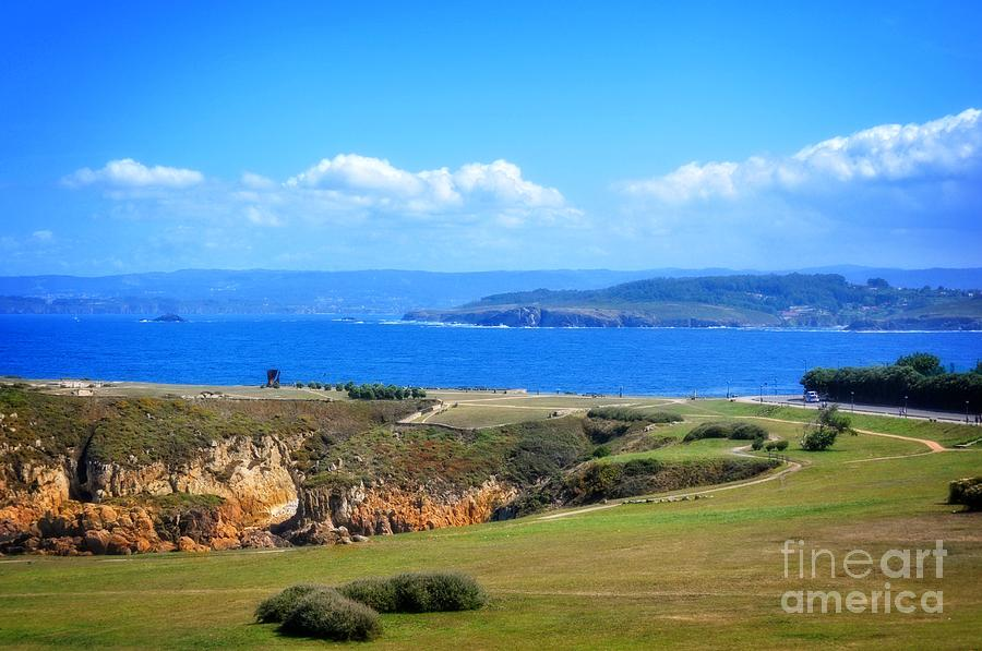 The Coast Of La Coruna Photograph  - The Coast Of La Coruna Fine Art Print