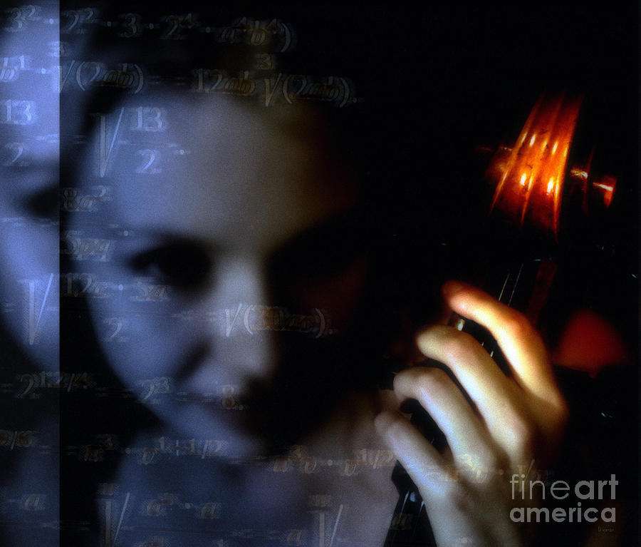 The Composer  Photograph  - The Composer  Fine Art Print