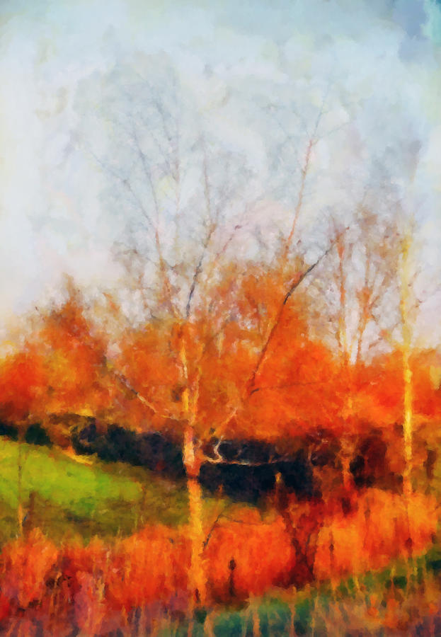 The Copse Painting  - The Copse Fine Art Print