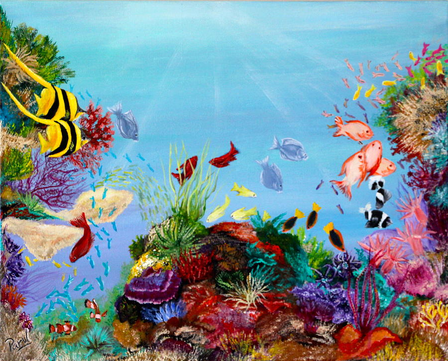 The Coral Reef Painting by Parul Mehta