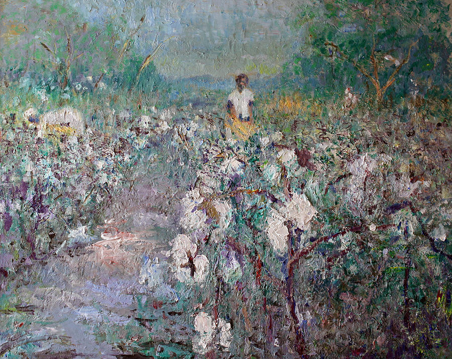 The Cotton Field Painting by Benjamin Johnson