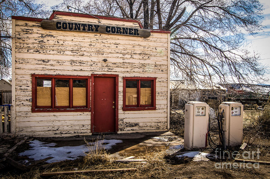 The Country Corner Photograph  - The Country Corner Fine Art Print