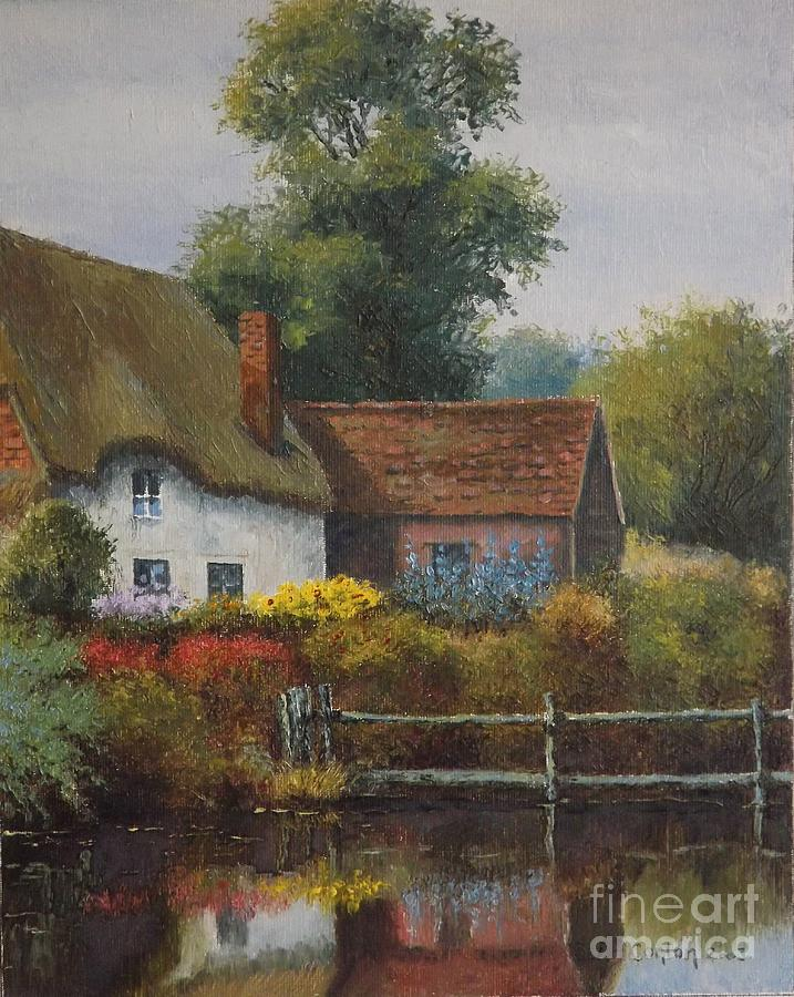 The Country Cottage Painting