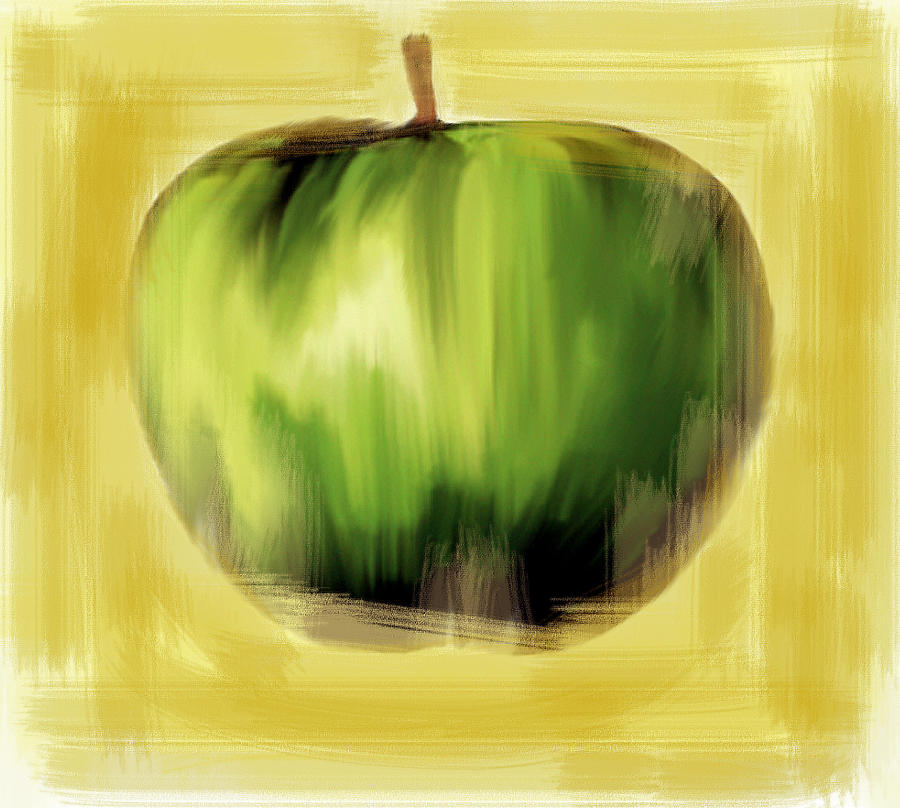 The Creative Apple The Beatles Painting  - The Creative Apple The Beatles Fine Art Print