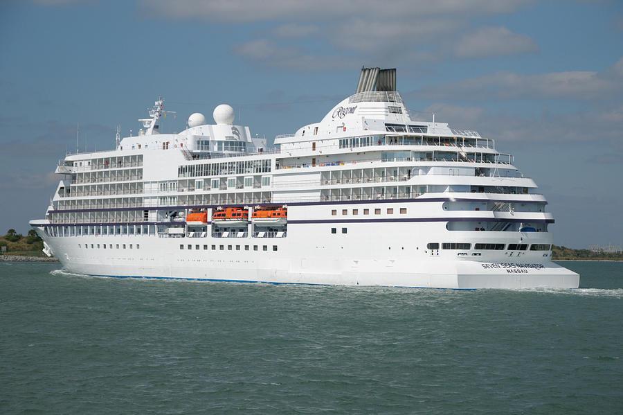 The Cruise Ship Seven Seas Navigator Photograph By Bradford Martin