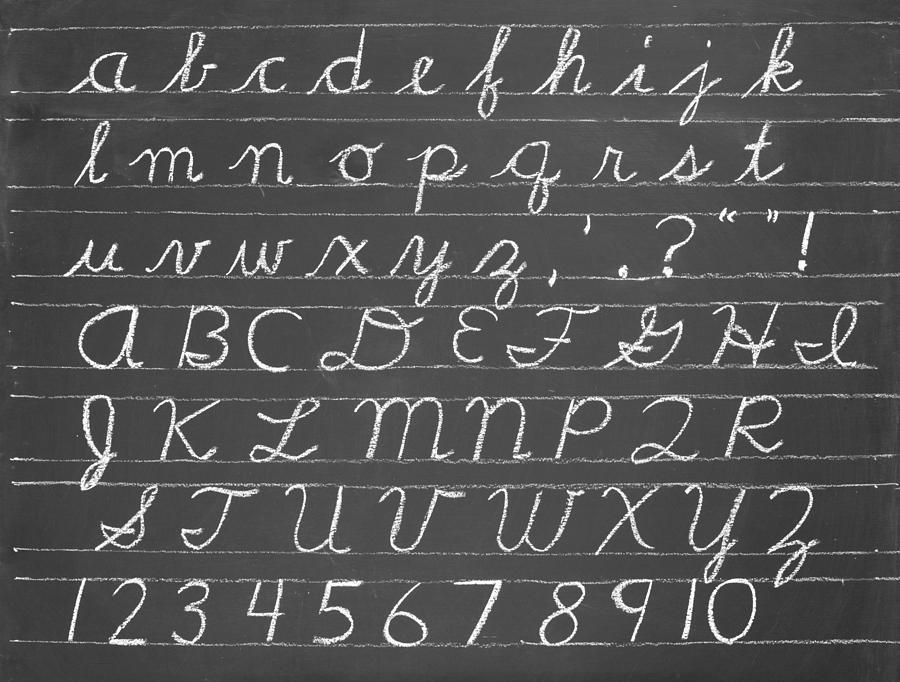Printables Cursive Alphabetical Order cursive alphabetical order precommunity printables worksheets the alphabet photograph by chevy fleet blackboard fleet