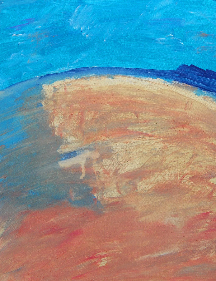 The Curve Of The Beach Painting