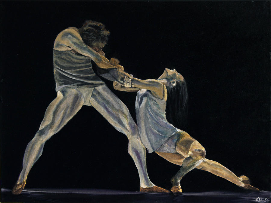 The Dance Painting  - The Dance Fine Art Print