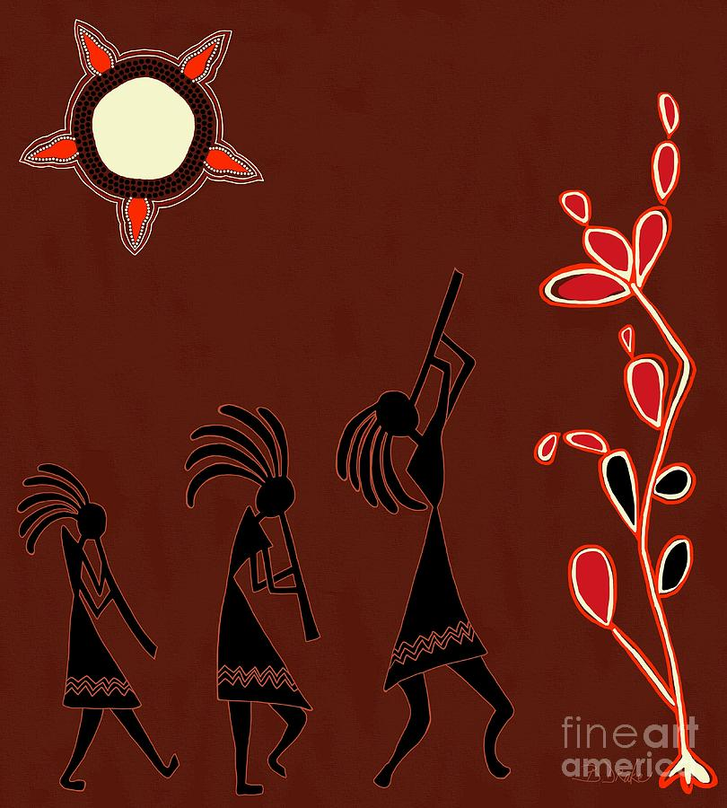 The Dancers Painting  - The Dancers Fine Art Print