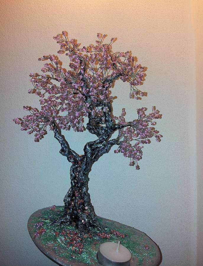 Wire Tree Sculpture - The Dancing Trees Boyfriend by J-Star Wind