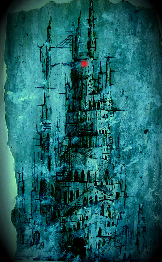 The Dark Tower Painting  - The Dark Tower Fine Art Print