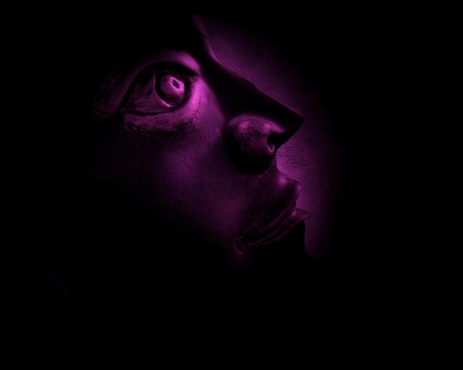 The Darkest Hour - Magenta Photograph