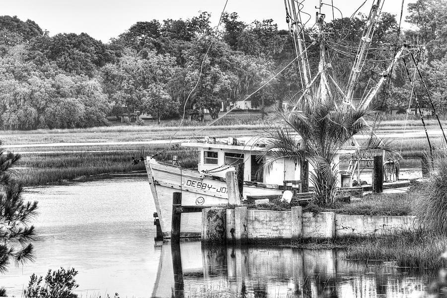 The Debbie-john Shrimp Boat Photograph  - The Debbie-john Shrimp Boat Fine Art Print