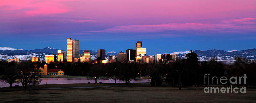 The Denver Skyline Photograph