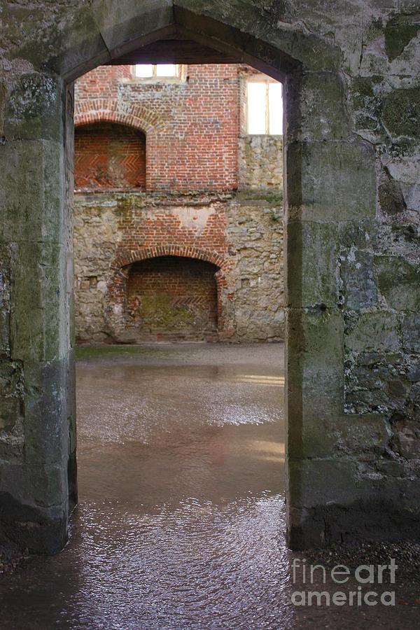 Titchfield Abbey Photograph - The Derelict Titchfield Abbey Hampshire by Terri Waters