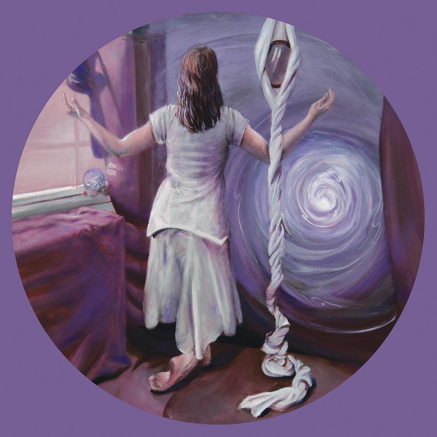 Shelley Irish Painting - The Devotee by Shelley Irish