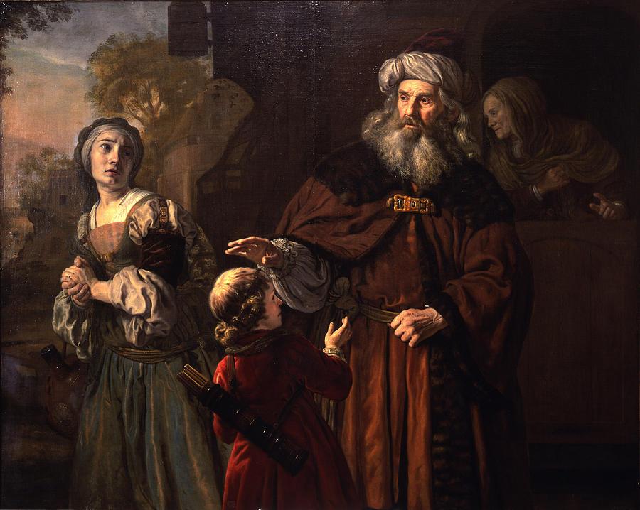 The Dismissal Of Hagar, 1650 Painting