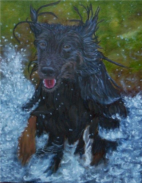 The Dog Of Martin Painting