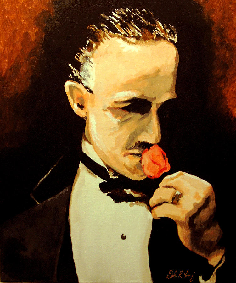 The Don And The Rose Painting  - The Don And The Rose Fine Art Print