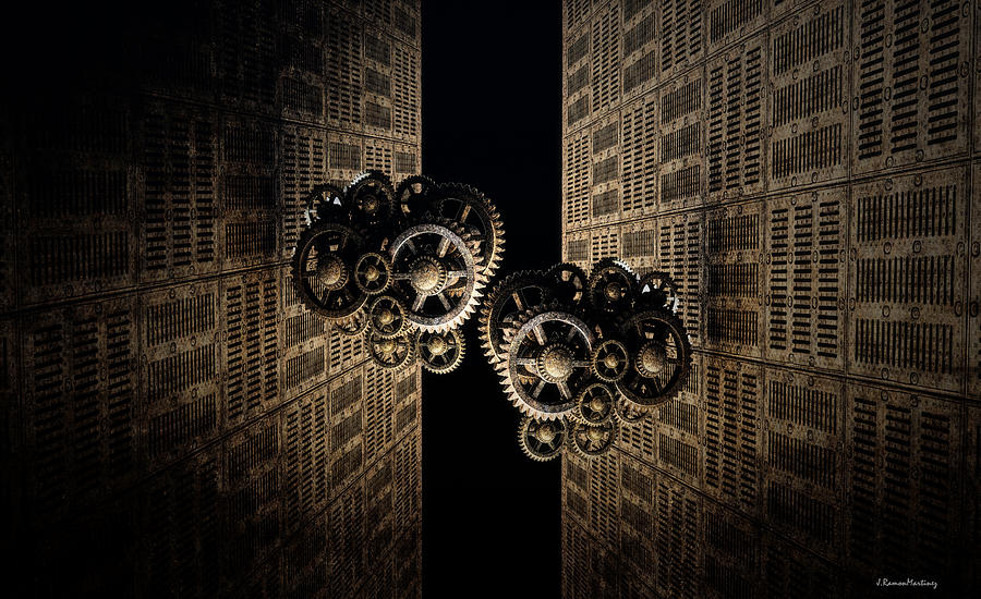 The Door Of The Time Digital Art