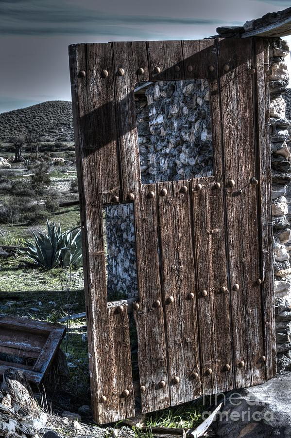 The Door With No Lock To Lock Photograph  - The Door With No Lock To Lock Fine Art Print