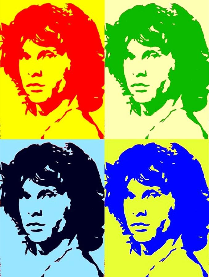 The Doors And Jimmy Painting