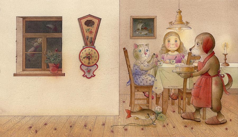 The Dream Cat 20 Painting