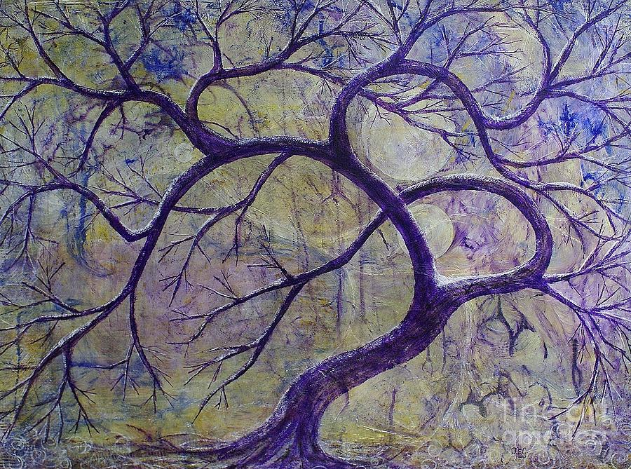 The Dreaming Tree Painting  - The Dreaming Tree Fine Art Print