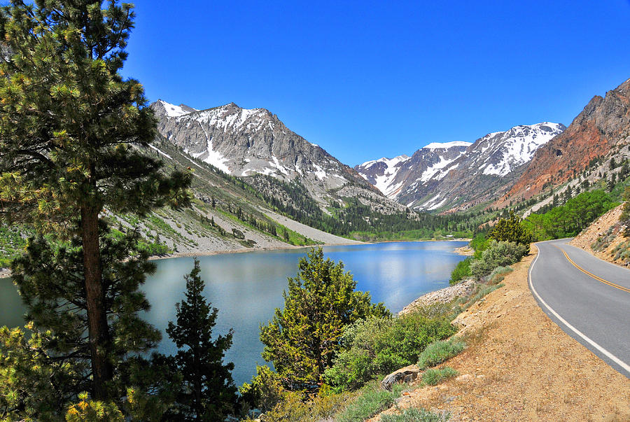 Lundy Photograph - The Drive By Lundy Lake by Lynn Bauer