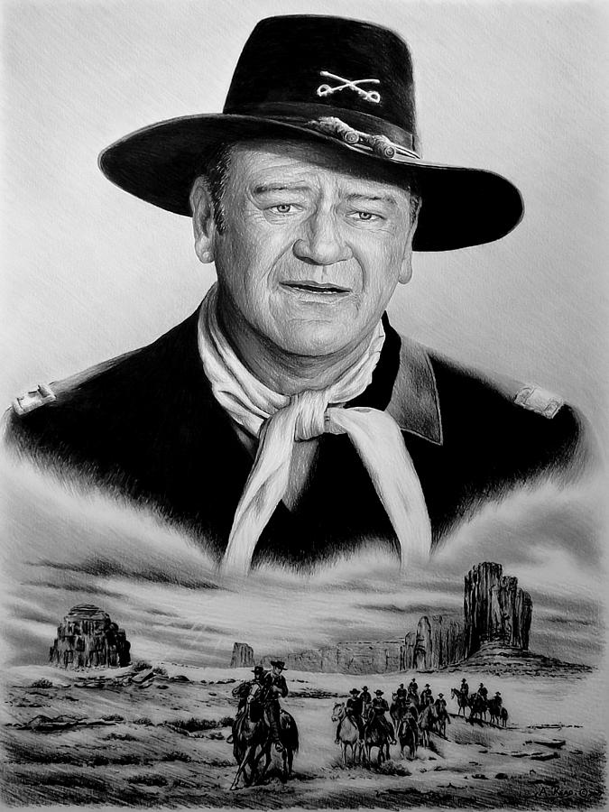 The Duke U S Cavalry  Soft Edit Drawing