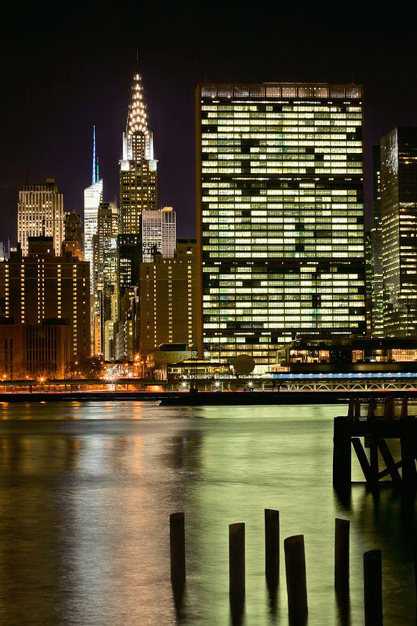 The East River Photograph  - The East River Fine Art Print