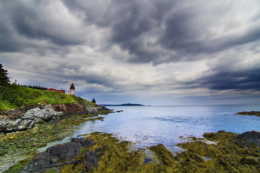 The Eastern Most Point In The U.s.a  Photograph