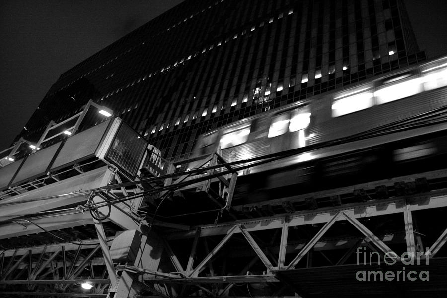 The El Photograph  - The El Fine Art Print
