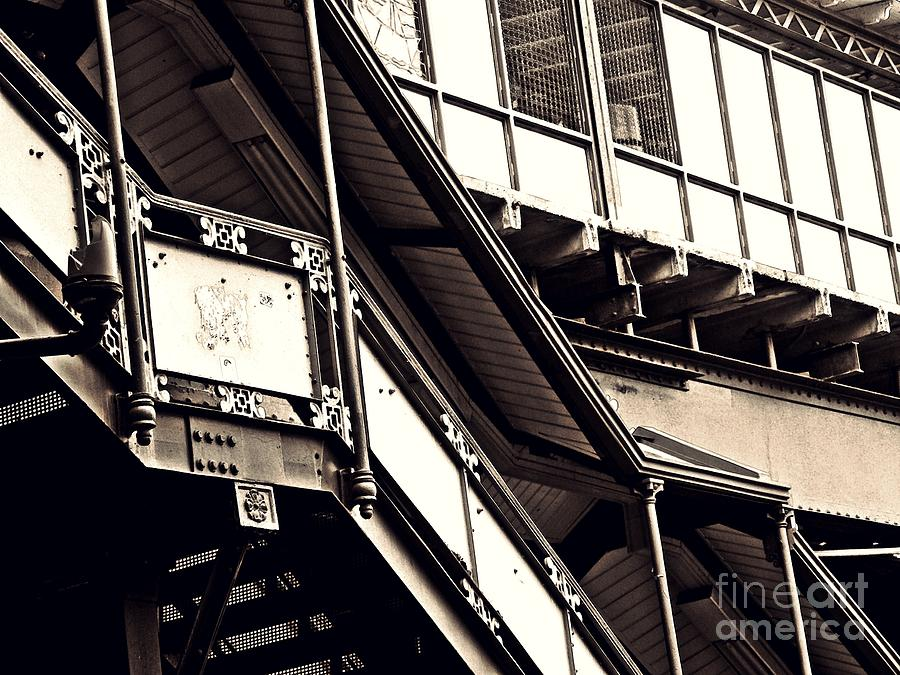 The Elevated Station At 125th Street 2 Photograph