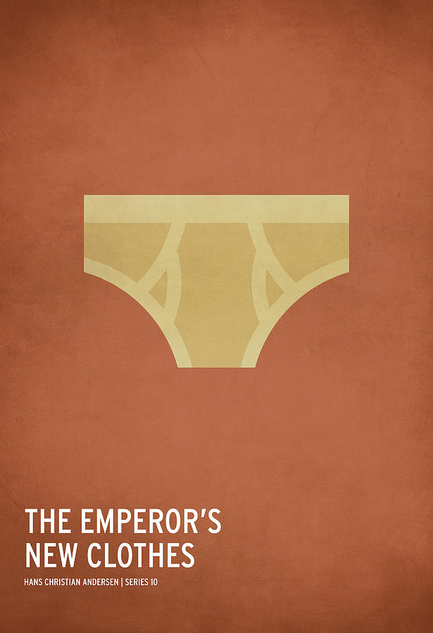 Stories Digital Art - The Emperors New Clothes by Christian Jackson
