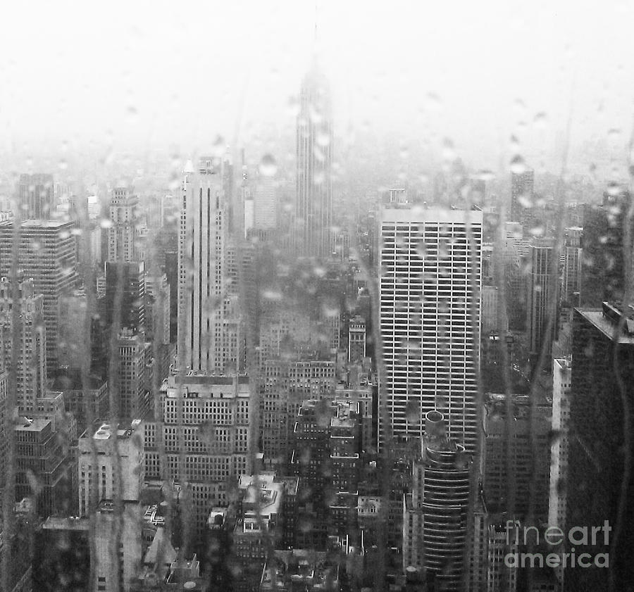 The Empire In The Rain Photograph
