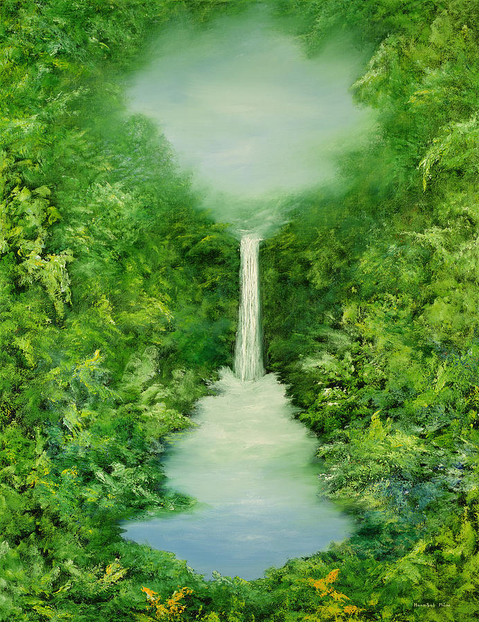 The Everlasting Rain Forest Painting  - The Everlasting Rain Forest Fine Art Print