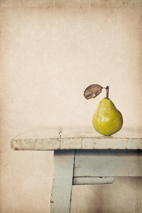 Pear Photograph - The Exhibitionist by Amy Weiss