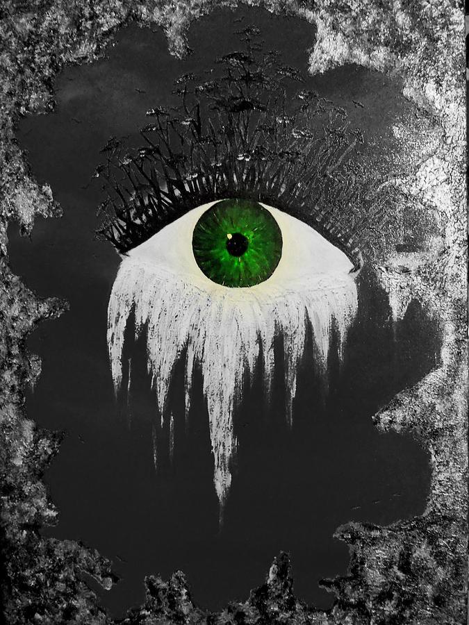 Eye Painting - The Eye by Nicole Champion