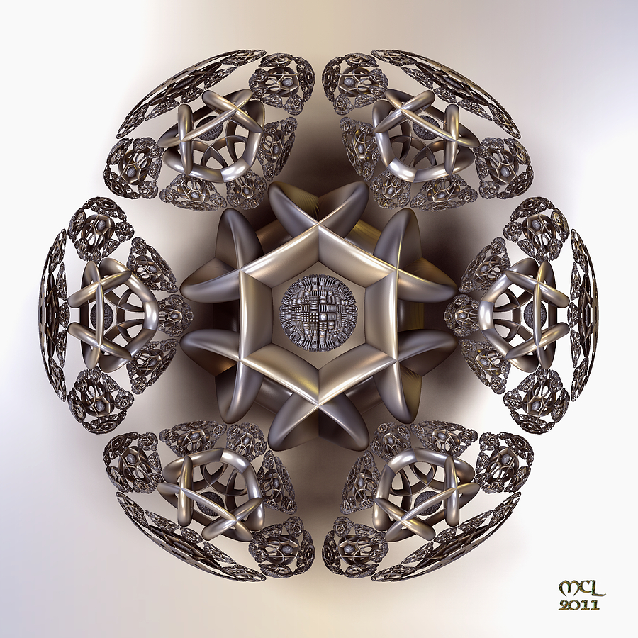 The Eye Of Harmony Digital Art  - The Eye Of Harmony Fine Art Print