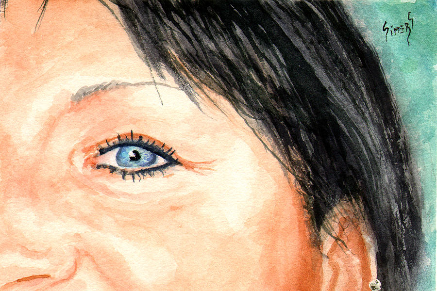The Eyes Have It - Tami Painting