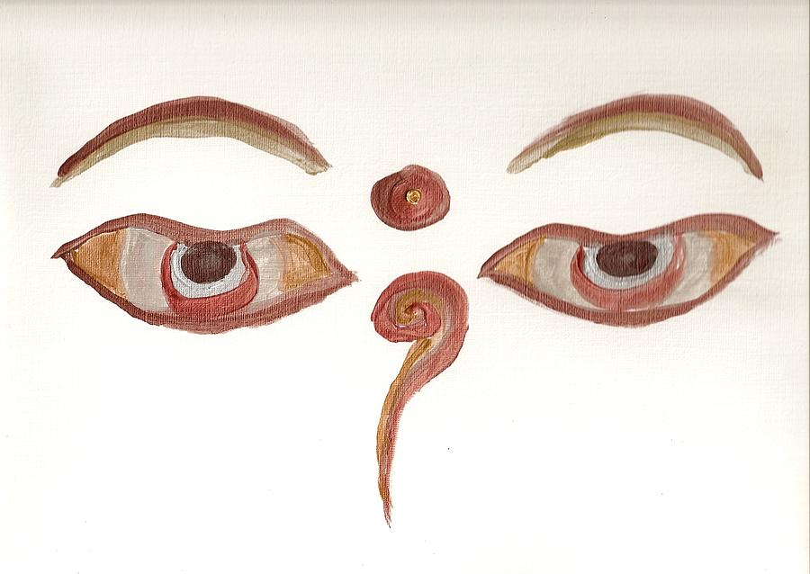 The Eyes Painting